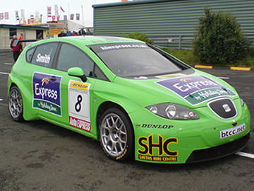 Seat Touring Car looked after by Simon Smail of Sitech Racing